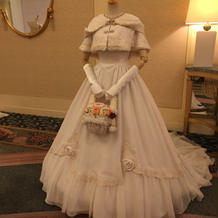 白雪姫のウェディングドレス