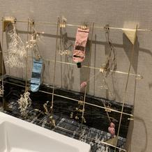 女性手洗い場