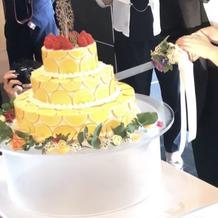 オーダーメイドのケーキ