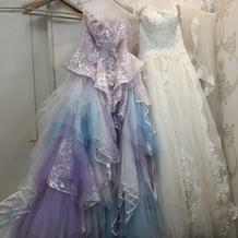 とても可愛いドレスに出会えました