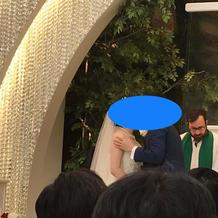 チャペルがとても綺麗でした。