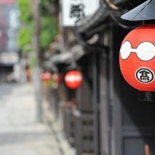 京都らしい雰囲気です。