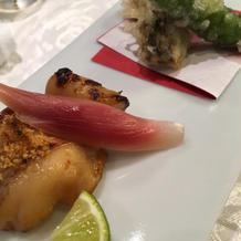 焼き魚と天ぷら