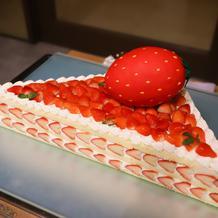 BIGなショートケーキ