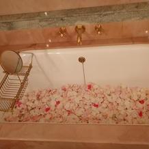 ブライズルーム内のお風呂