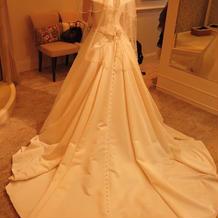 憧れのウェディングドレス