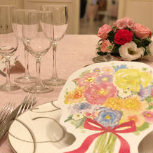 テーブルのコーディネート