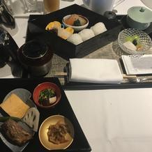 当日の朝食(和食)