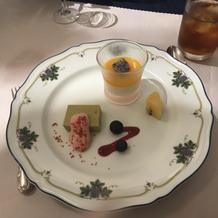 式場見学時の料理