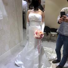 基本料金内のマーメイドドレス