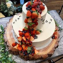 パティシエとデザインの相談をしたケーキ♪