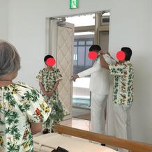 新郎ジャケットセレモニー