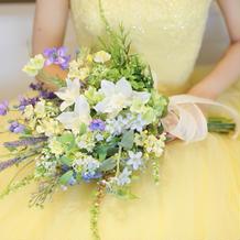 カラードレス(造花)