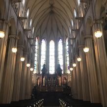 迫力のある大聖堂