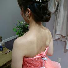 お色直しのドレス検討2