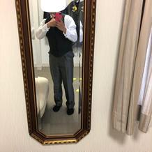式の衣装(新郎)