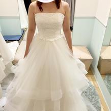 プラン外5万円ドレス