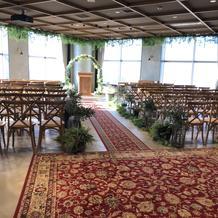 20階の結婚式場