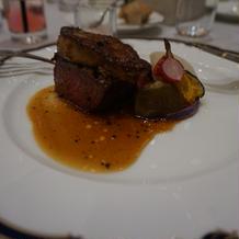 メインのお肉が美味しかったです