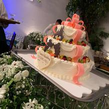 こだわりのケーキ