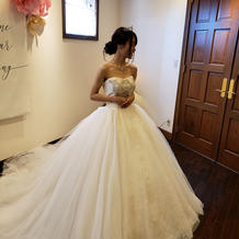 シンデレラのドレス