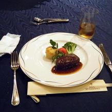 肉料理(メイン)