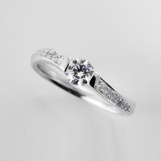 婚約指輪セミオーダー事例