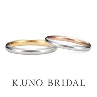 月日(結婚指輪 甲丸タイプ)