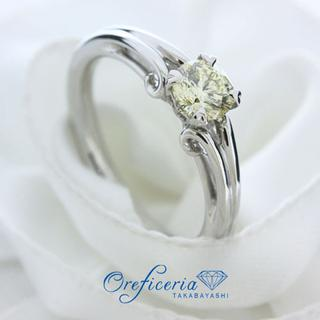 【オーダー実例】イエローダイヤモンド