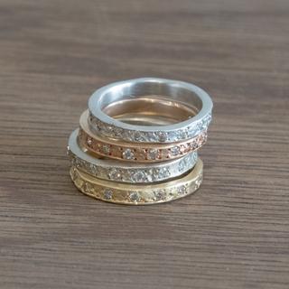 Eternity Diamond Engagement Ring - エタニティ ダイヤモンド エンゲージリング