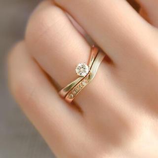 木目つむぎ(婚約指輪)