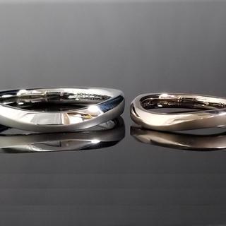 鍛造フルオーダーメイドマリッジリング