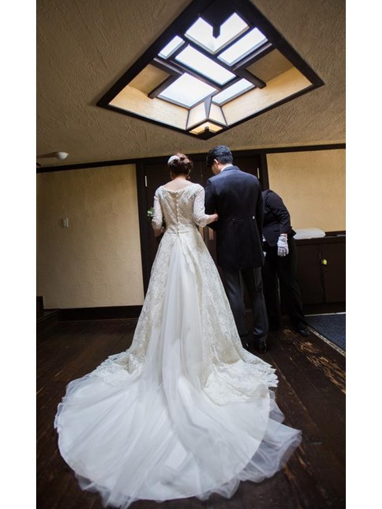 8a50c2867445a 衣装・小物(みんなの投稿写真):重要文化財 自由学園 明日館で結婚式 ...