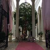 式場の入り口