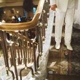 大階段の手前