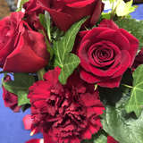 各テーブルの素敵な花