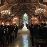 とにかく作りがすてきな一目惚れした教会
