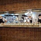 グランブリエでのオープンキッチン