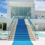 大階段。絨毯はオプションです。