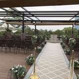 屋上の挙式会場