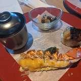 オマール海老のグリルとフォアグラのお寿司