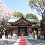 挙式会場の東郷神社