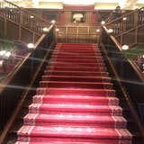 ロビーにある大階段