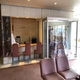 ホテルの打ち合わせや、ゲストの待機場。