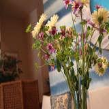 待合のお花