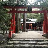会場の神社