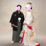 鶴の刺繍が素敵な白無垢