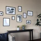 自由に写真などを飾れる控えスペース