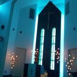 青いライトチャペル