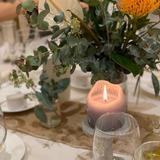 みんなにも好評だったテーブル装花